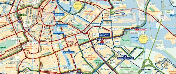 Cartina Di Parigi E Dintorni.Mappa Di Amsterdam In Pdf Da Stampare Metro Tram E Bus
