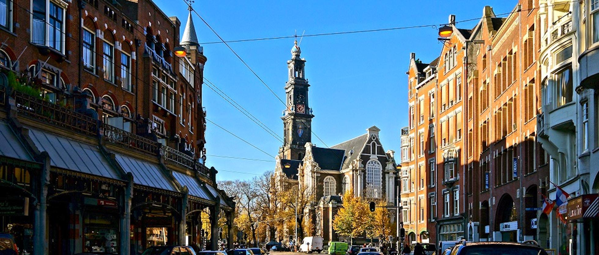 Westerkerk il campanile pi alto di amsterdam vivi for Hotel vicino piazza dam amsterdam