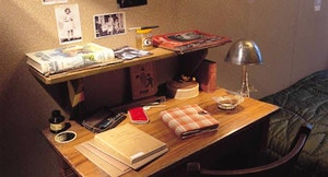 Casa Anna Frank scrivania