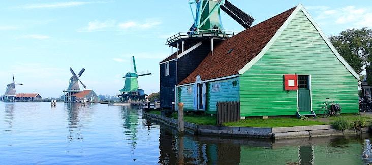 Tour di Volendam, Marken e mulini a vento con crociera sui canali
