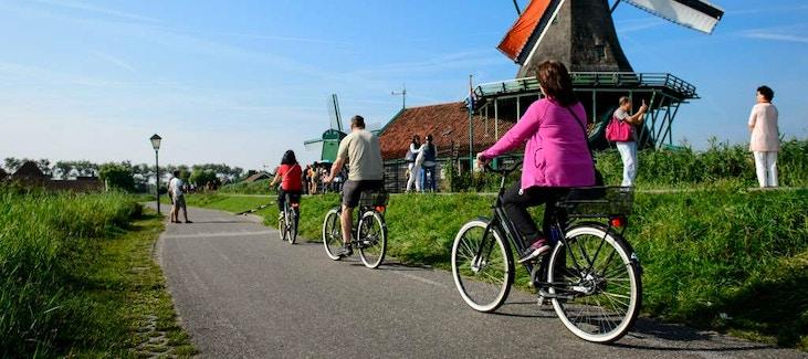 Cartina Piste Ciclabili Olanda.La Campagna D Olanda In Bici Itinerari Vicino Zaanse Schans