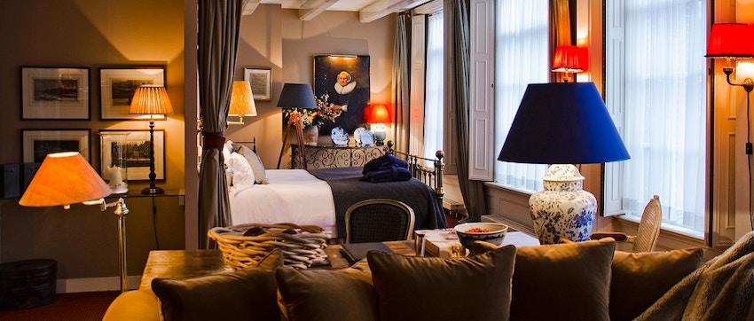 10 hotel romantici in centro ad amsterdam for Appartamenti amsterdam centro