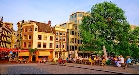 Visita i canali di amsterdam dal prinsengracht al singel for Hotel vicino piazza dam amsterdam