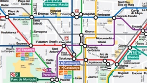 Cartina Metro Barcellona.Metropolitana Di Barcellona Linee Orari Biglietti E Holabcn