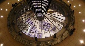 Cupola Reichstag interno