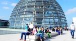 Cupola Reichstag turisti