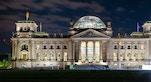 Palazzo Reichstag di notte
