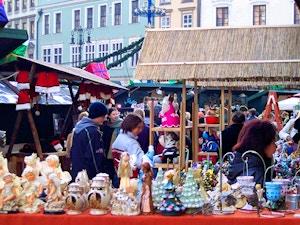 cracovia mercato natale artigianato
