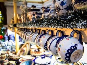mercatini natale cracovia tazze