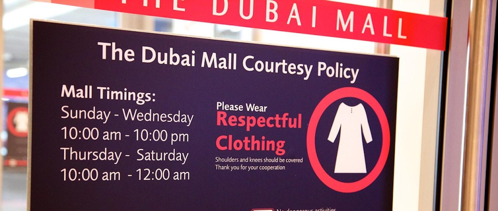 Cose da non fare a Dubai   VIVI Dubai