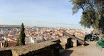 Panorama dal Castelo de Sao Jorge foto di Rene Leubert