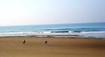 Una delle spiagge di Costa da Caparica foto di Gustavo Verissimo