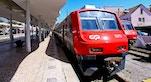 Treni Stazione di Sintra foto di Matt Hinsta
