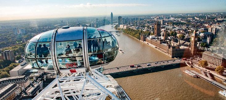 Biglietti London Eye: Imbarco prioritario e Spettacolo in 4D