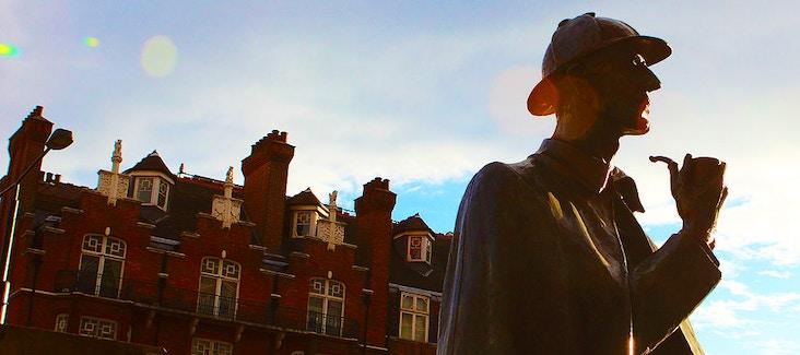 Prenota il tour guidato di 2 ore sulle orme di Sherlock Holmes