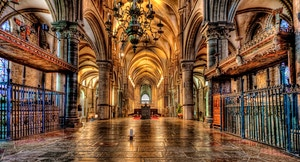 Cattedrale Canterbury Cripta