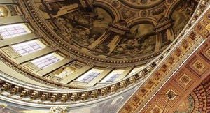 8 Cattedrale Saint Paul soffitto