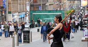 Buchanan Street Glasgow Wikimedia Commons