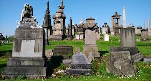 Cimitero Glasgow necropoli Scozia