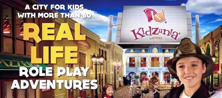 Prenota ora l'ingresso a Kidzania Londra per i tuoi bambini