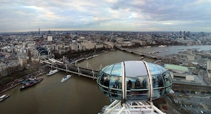 Vista dal London Eye