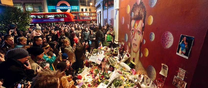 Murale dedicato a David Bowie a Brixton