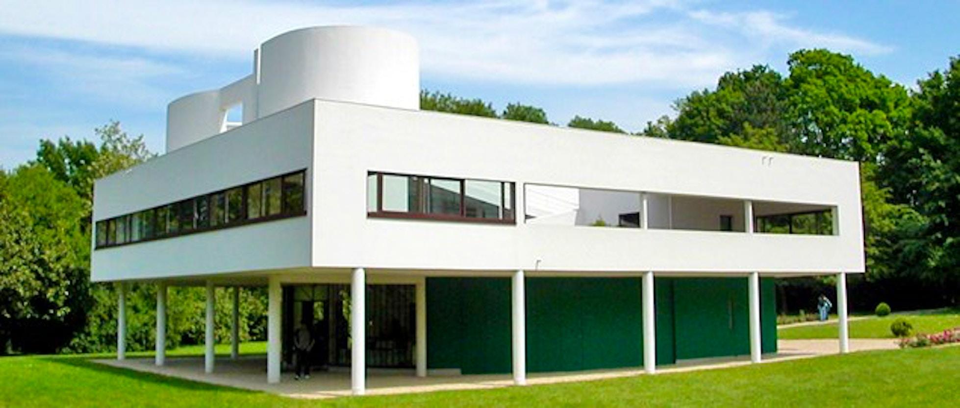 Villa Savoye - L\'architettura di Le Corbusier alle porte di Parigi