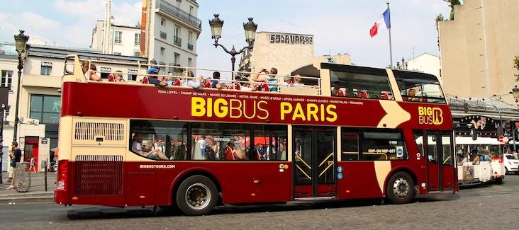 Goditi Parigi dall'alto con un tour a bordo di un Bus Panoramico