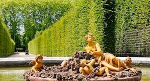 bassin de flore chateau de versailles