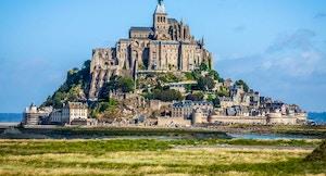 Mont Saint Michel panorama