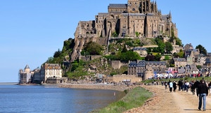 Mont Saint Michel pendici