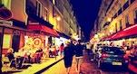 Quartiere Latino di Notte