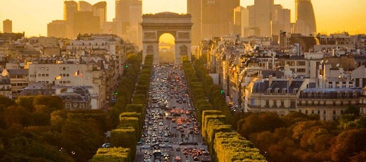 Champs lys es la pi bella strada del mondo - Comptoir des cotonniers champs elysees ...