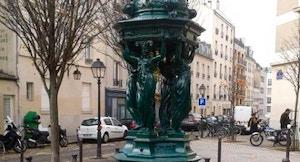 Butte aux Caille fontana Place Verlaine foto di eltpics via flickr