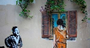 Buttes aux Cailles Street Art foto di Jean Baptiste ROUX via flickr