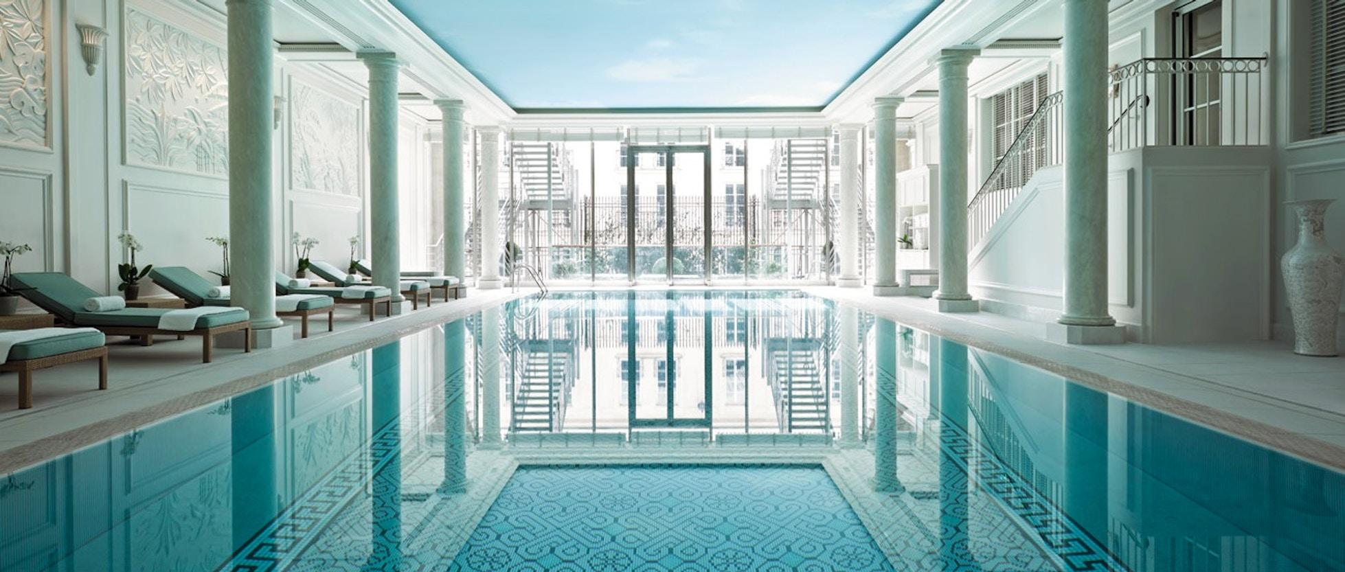 Centri Benessere La Top 10 Dei Migliori Hotel Spa Di Parigi