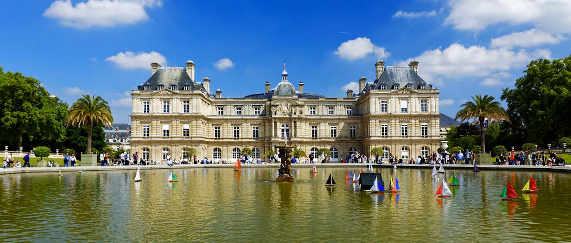 Il palazzo e i giardini di lussemburgo vivi parigi - Giardini foto immagini ...