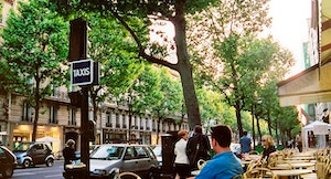 Boulevard Saint Germain Cafe