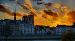 Notre Dame Tramonto