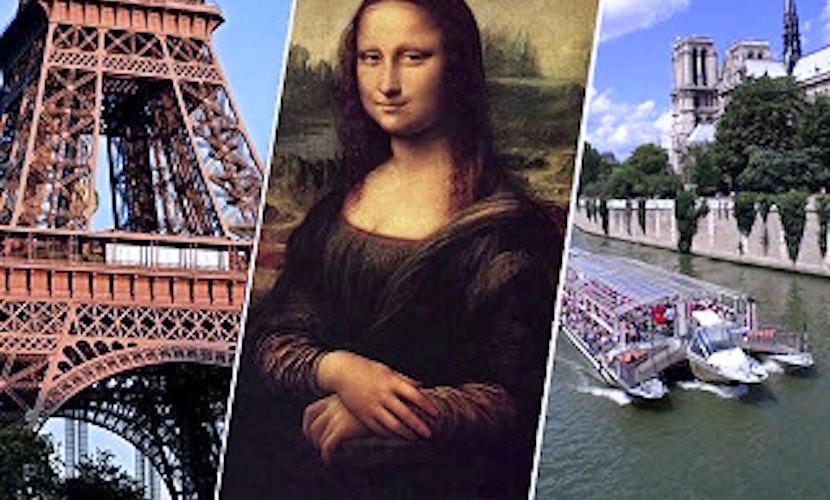 Torre Eiffel + Louvre + Crociera