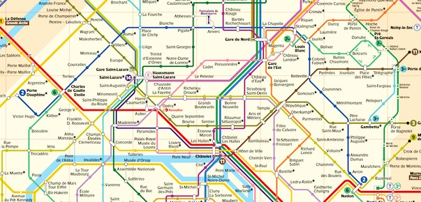 Cartina Autobus Parigi.Mappa Di Parigi In Pdf Da Stampare Metro Rer E Bus